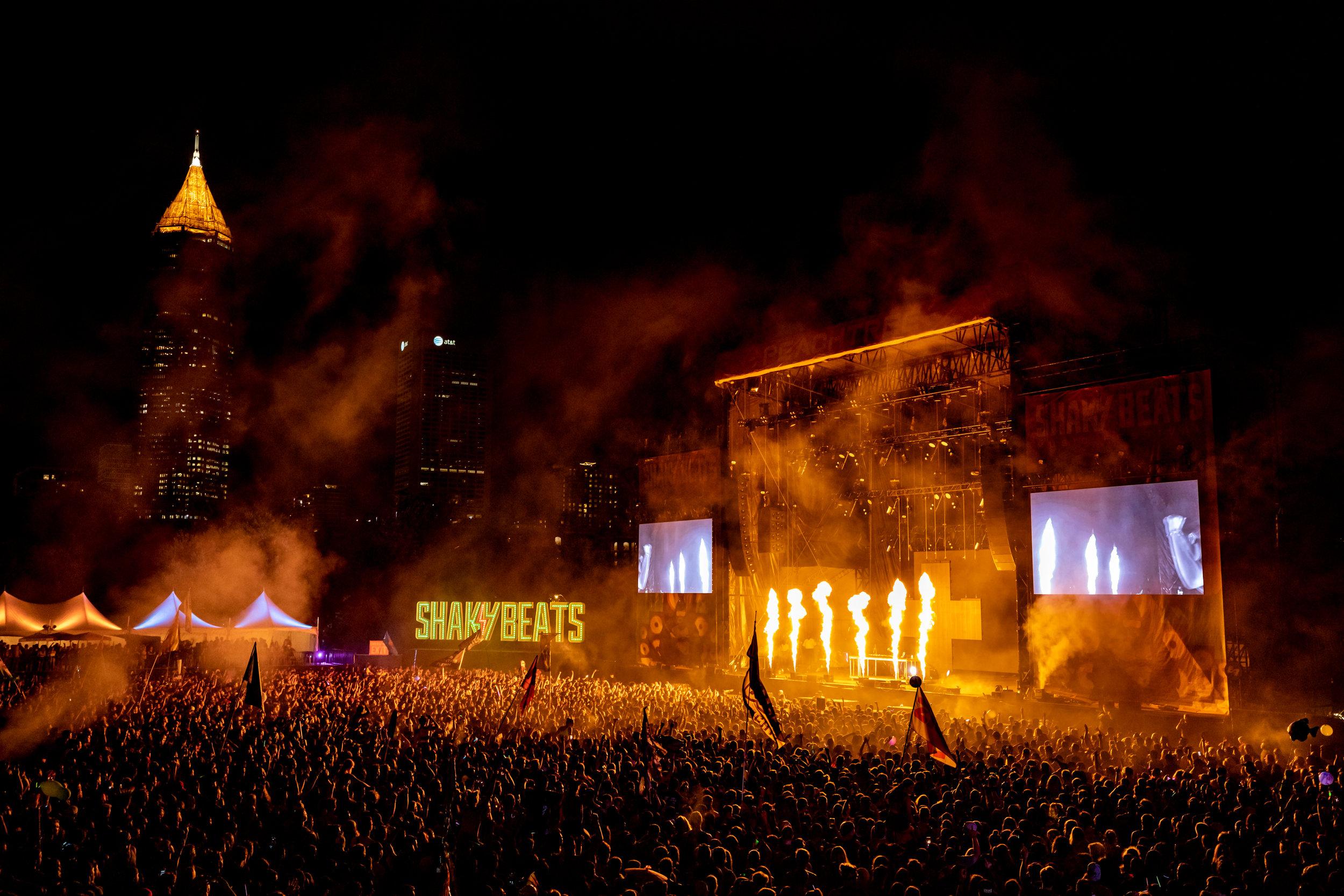 Shaky Beats 2019 in Atlanta, Georgia