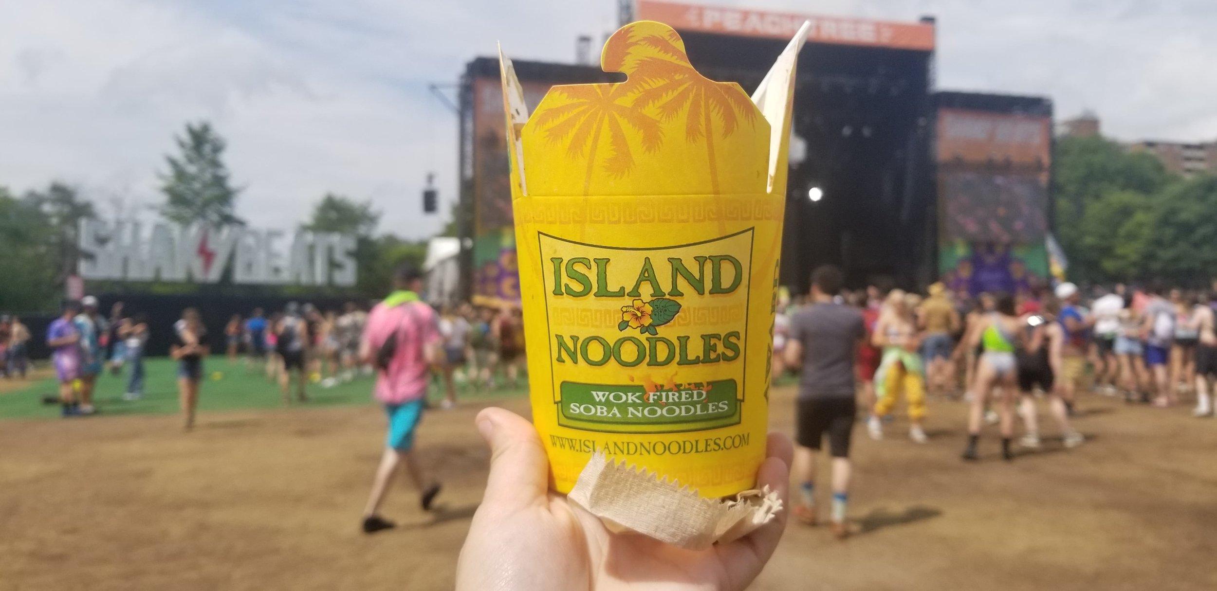 Island Noodles at Shaky Beats Music Festival 2019