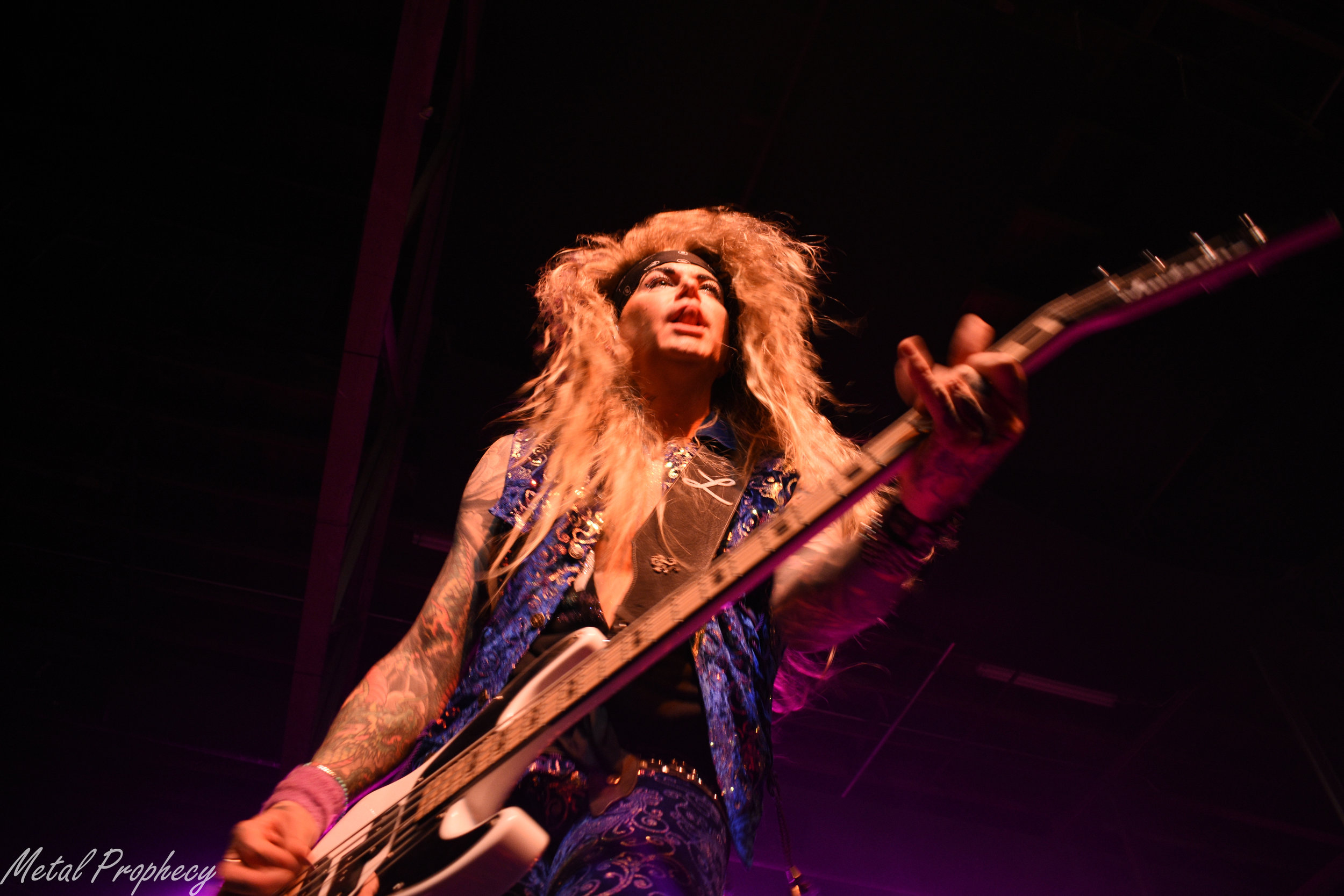 Steel Panther at Marathon Music Works