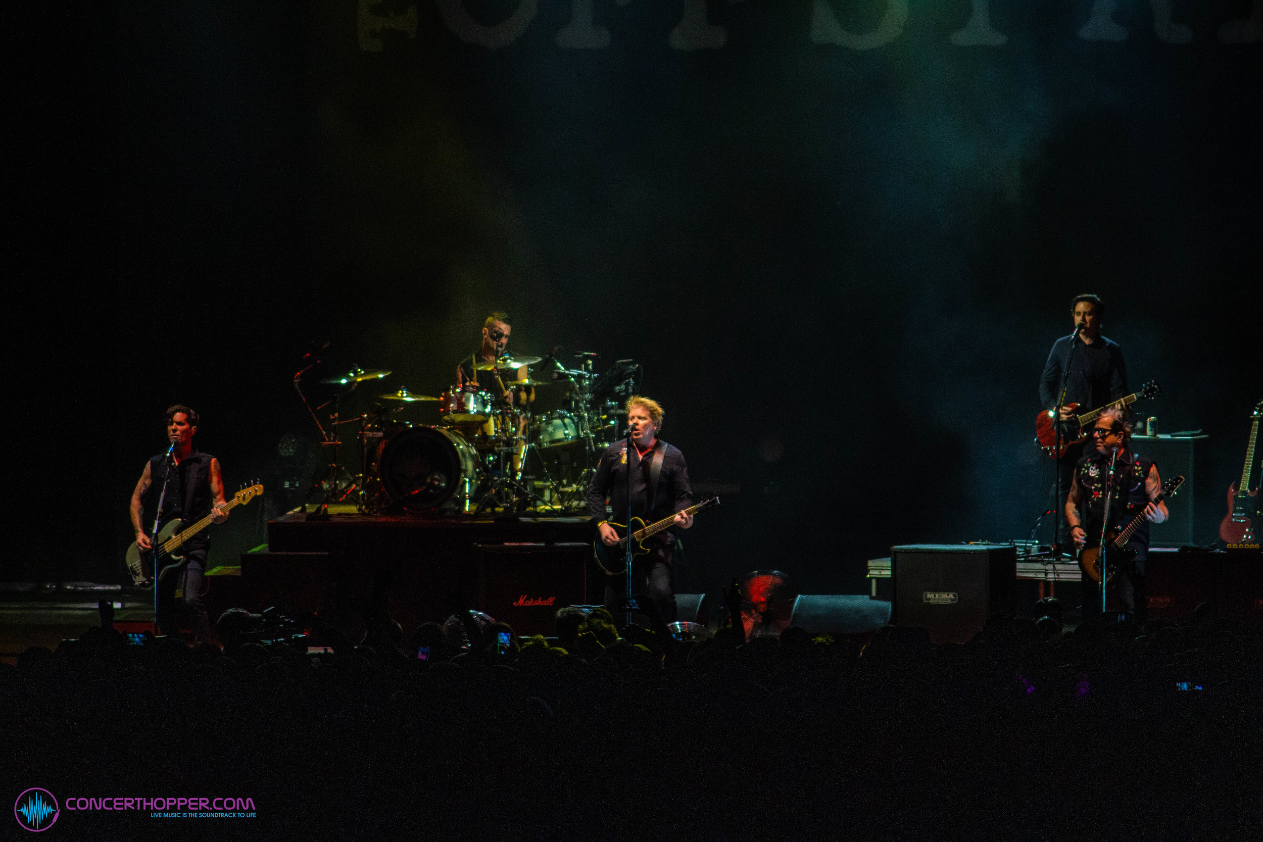 The Offspring performing at Camp Anarchy 2019 - Photo by Kade Martin, Concert Hopper