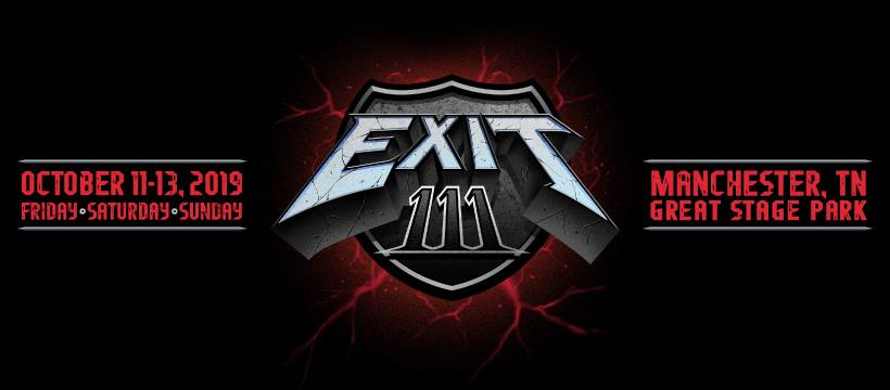 Exit 111 - Official Event Banner