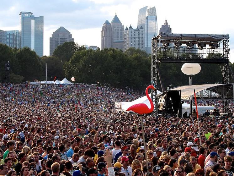 Music Midtown in Atlanta, Georgia - Photo courtesy of FestivalSquad.com