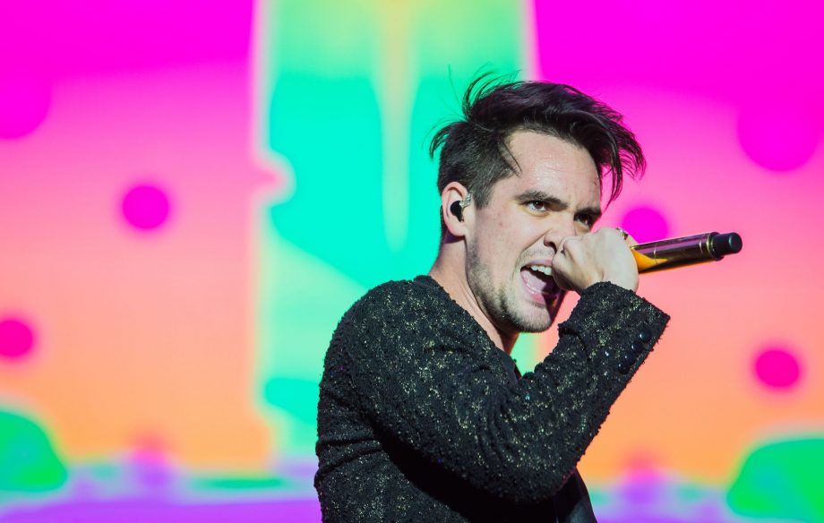 Brendon Urie of Panic! At the Disco performing LIVE - Photo courtesy of NME.com