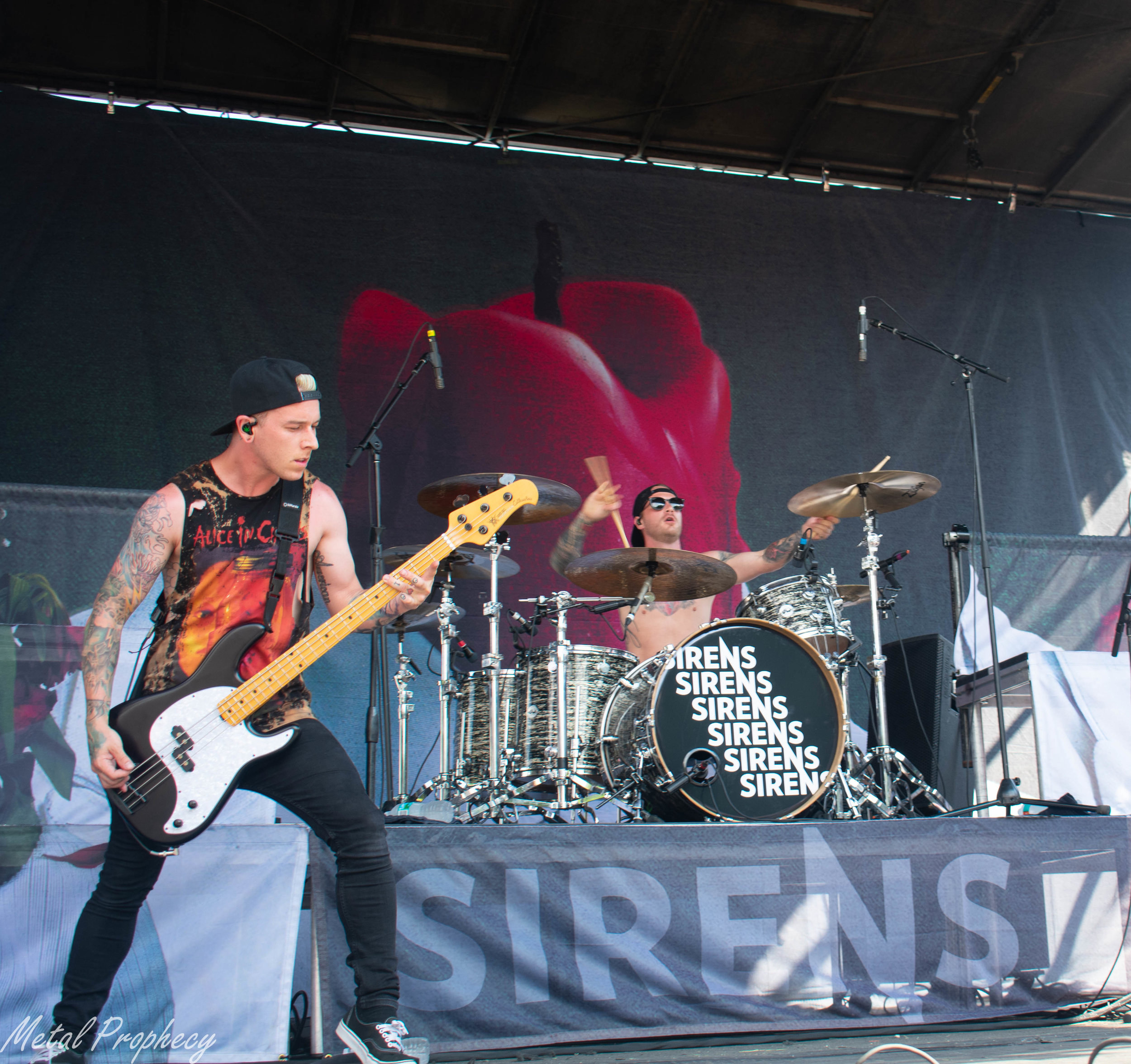 Sleeping With Sirens at Rockstar Energy Disrupt Festival