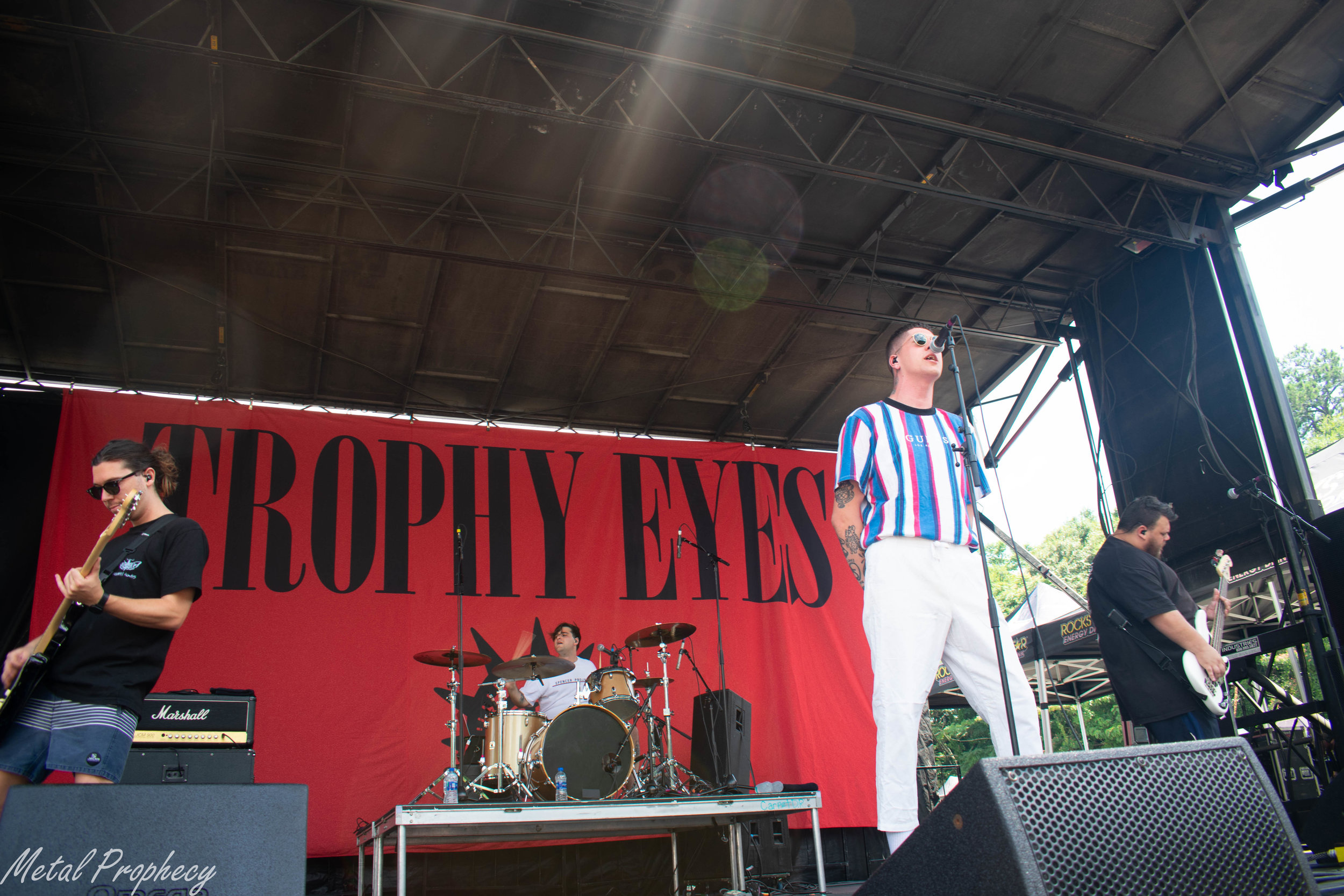 Trophy Eyes at Rockstar Energy Disrupt Festival