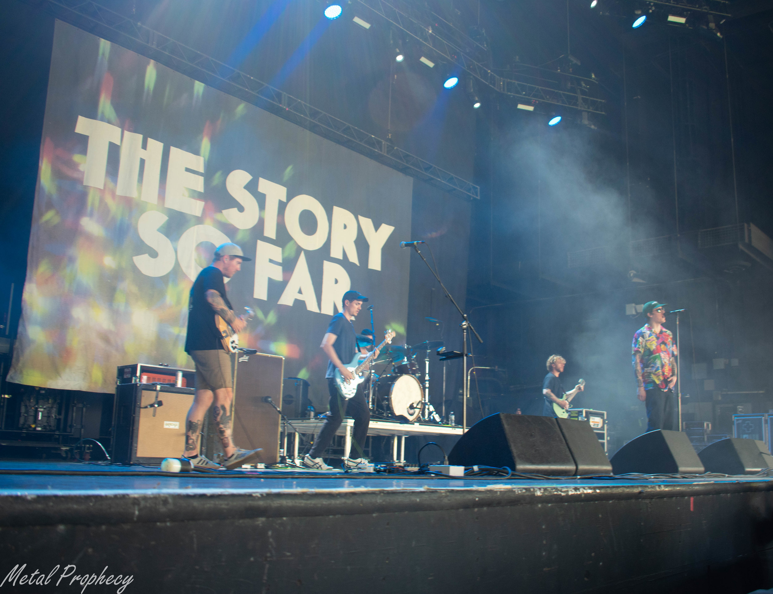 The Story So Far at Rockstar Energy Disrupt Festival