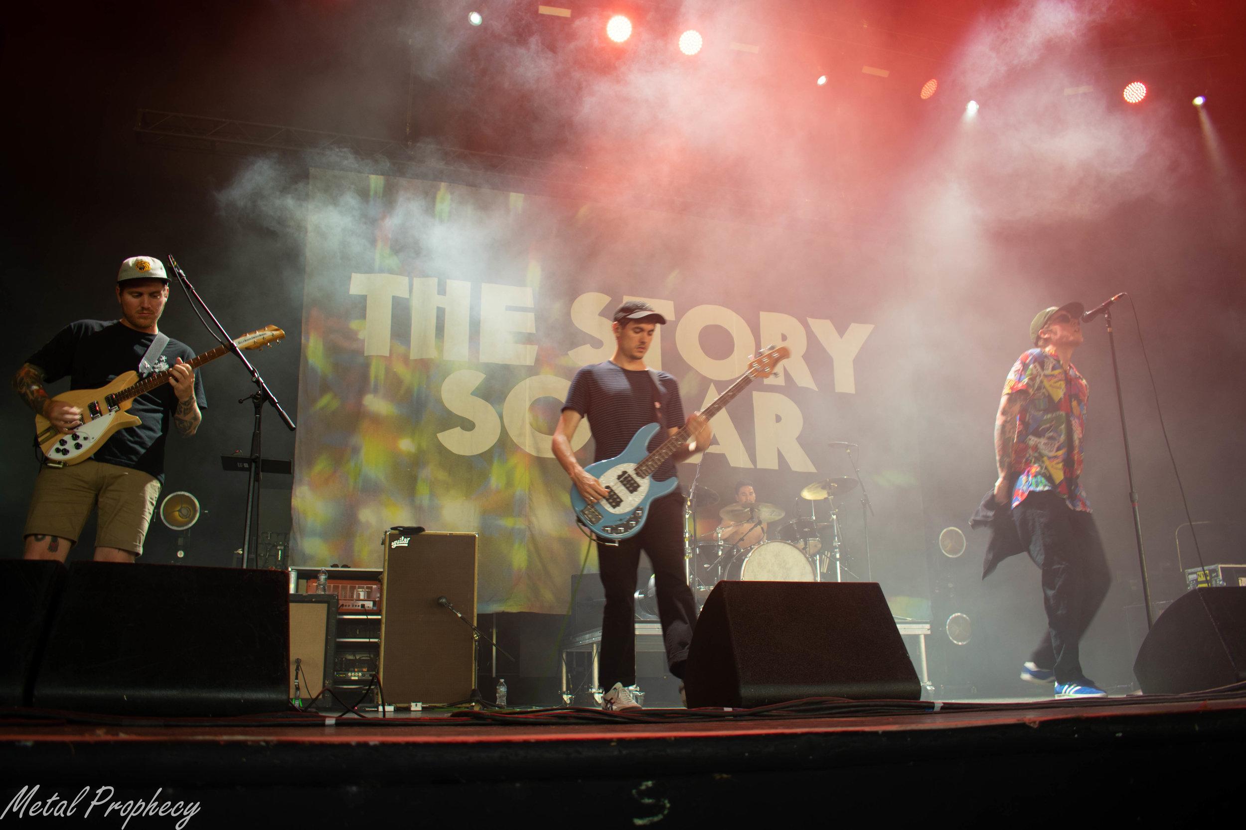 The Story So Far at Rockstar Disrupt Festival