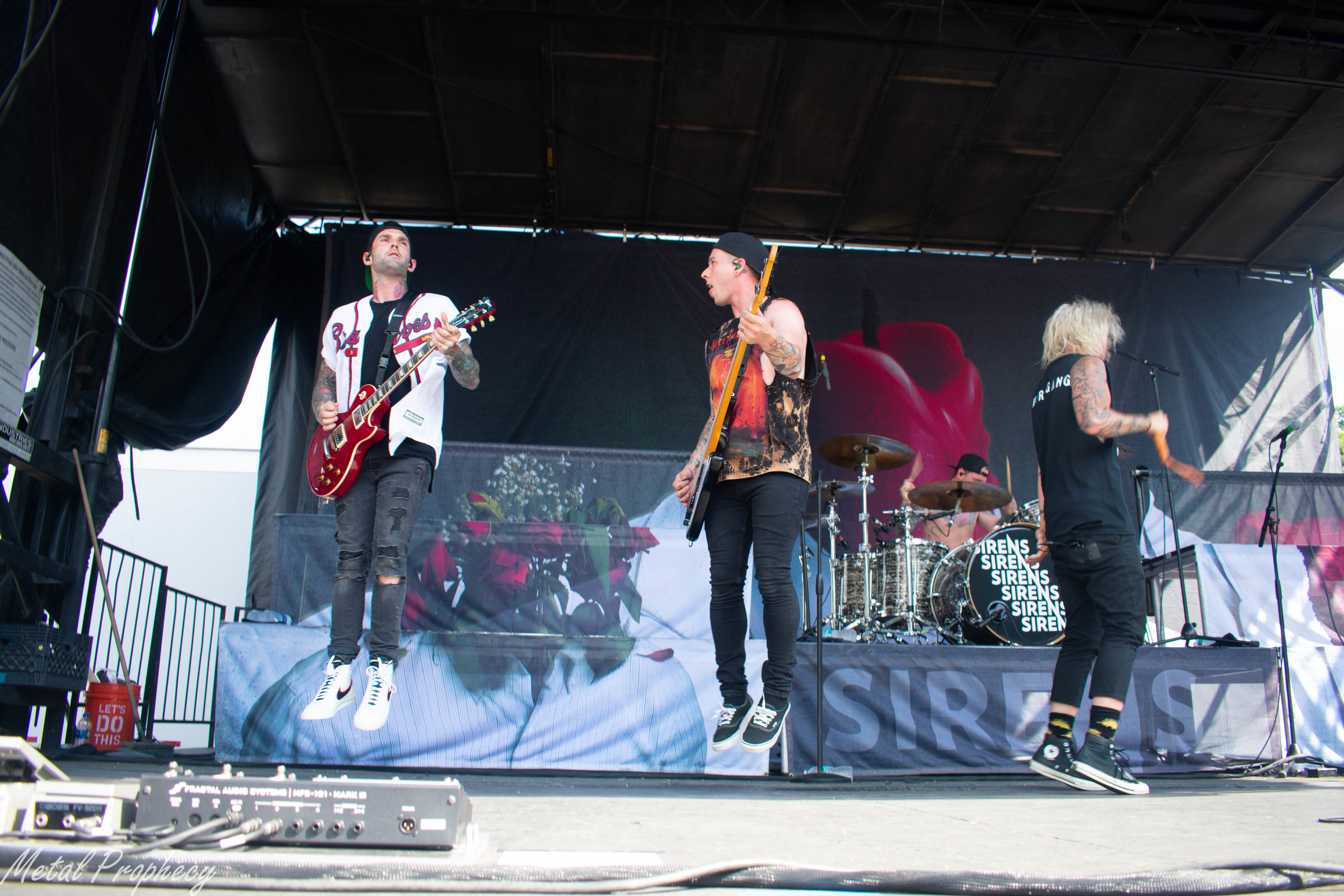 Sleeping With Sirens at Rockstar Disrupt Festival