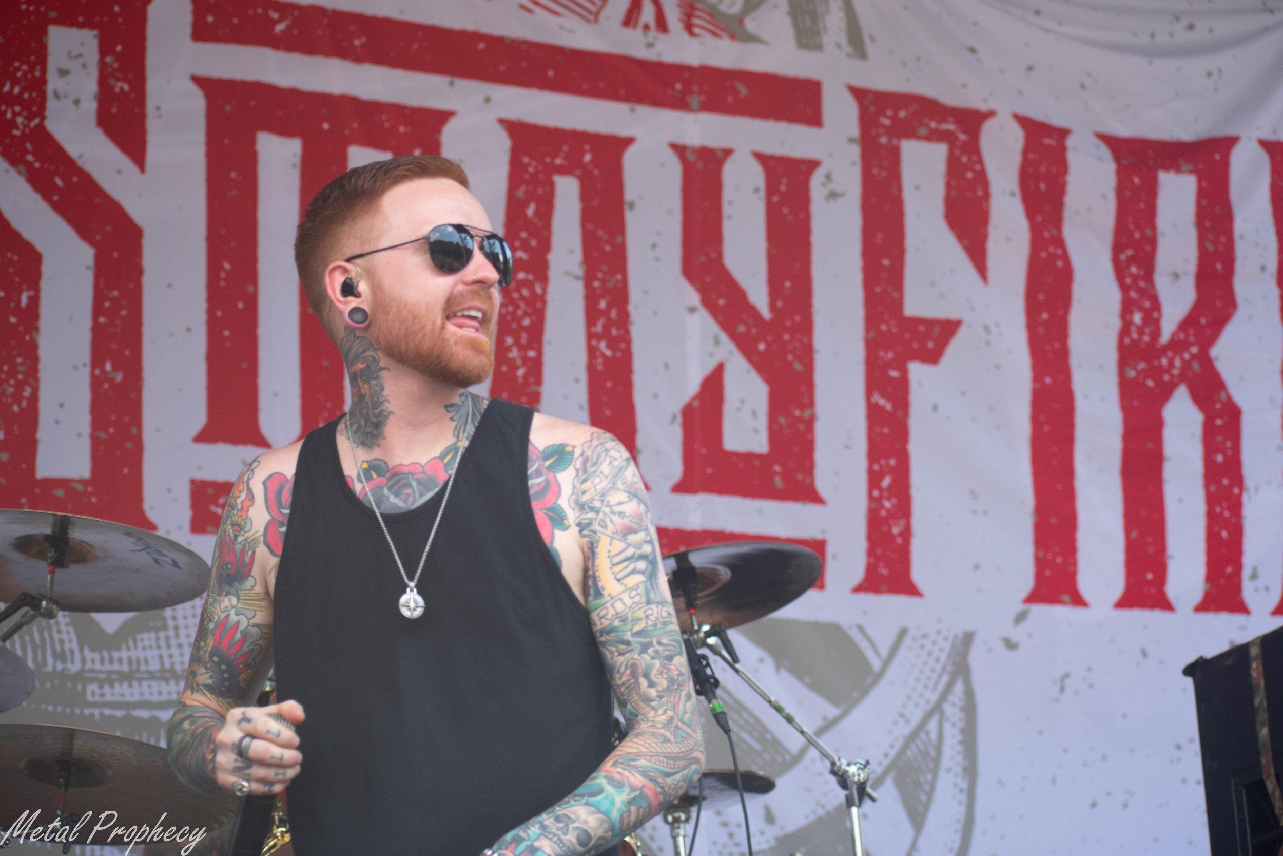 Memphis May Fire at Rockstar Disrupt Festival