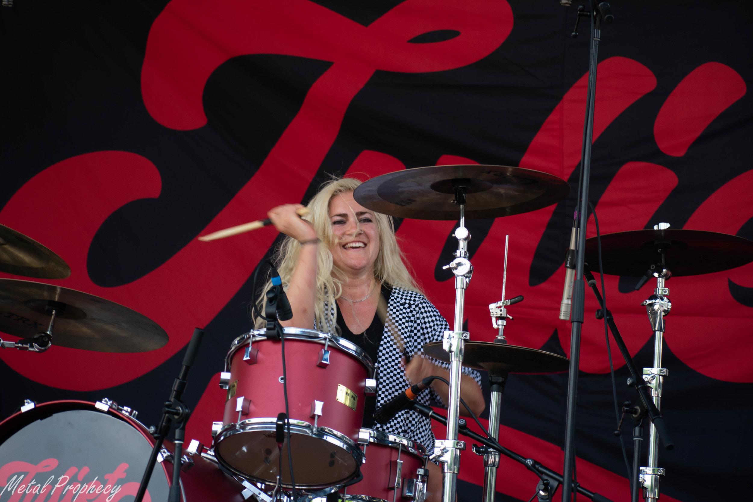 Juliet Simms at Rockstar Disrupt Festival