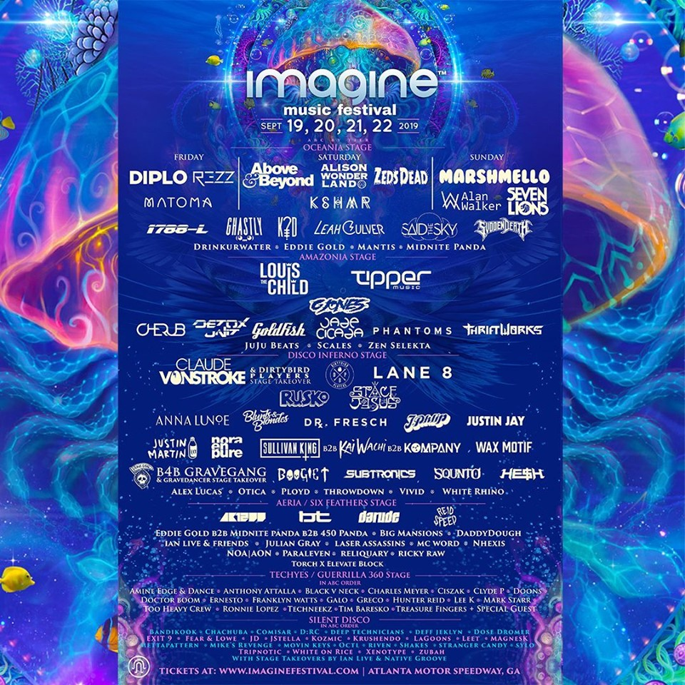 IMF lineup poster 2019