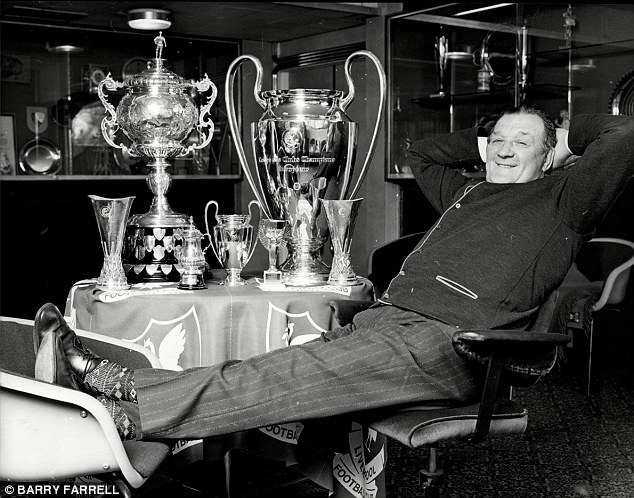 Bob Paisley with his Impressive Trophy Haul