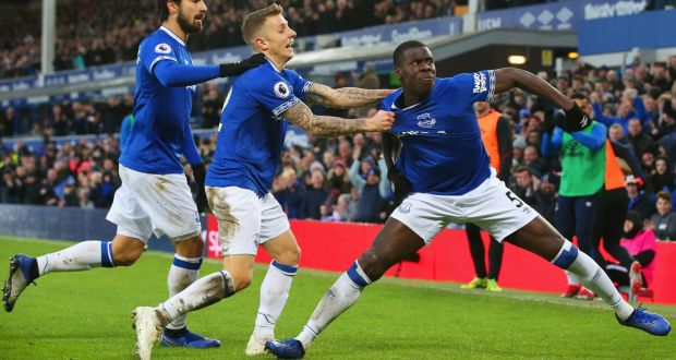 Everton players celebrated their victory against Bournemouth as if they were playing Liverpool.