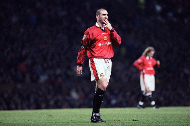 Cantona retired as one of United's greatest ever players.