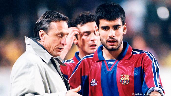 Cruyff and Guardiola