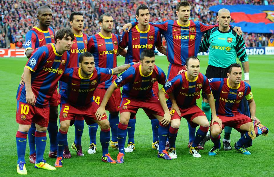 Barcelona at Wembley '11.