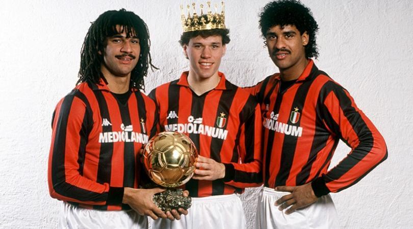 Gullit, Van Basten, and Rijkaard