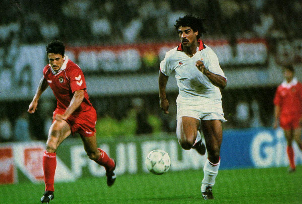 Rijkaard against Benfica