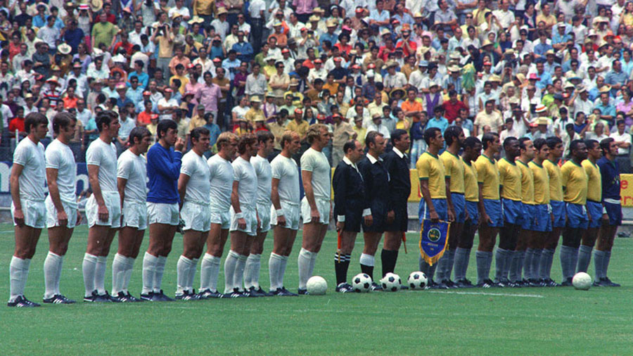 Brazil vs. England, 1970