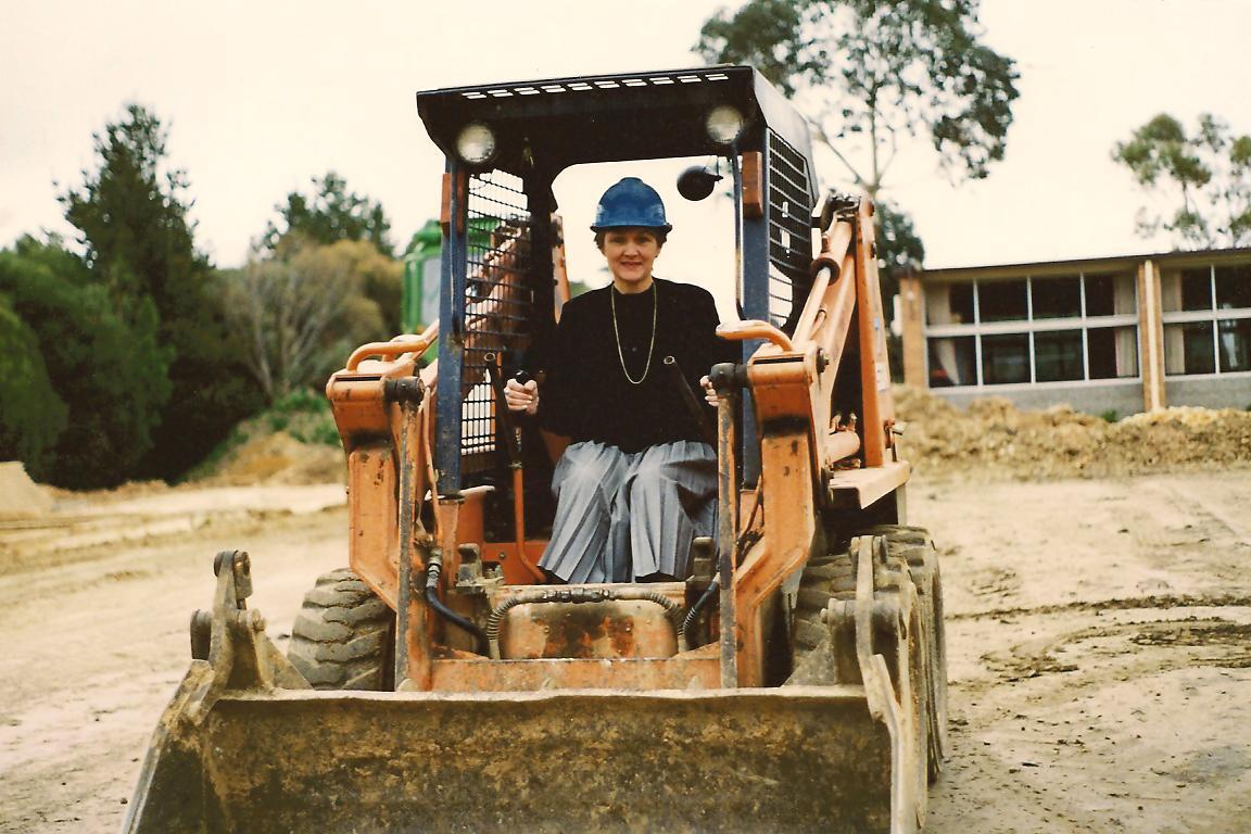 1990 Principal Maureen Thompson