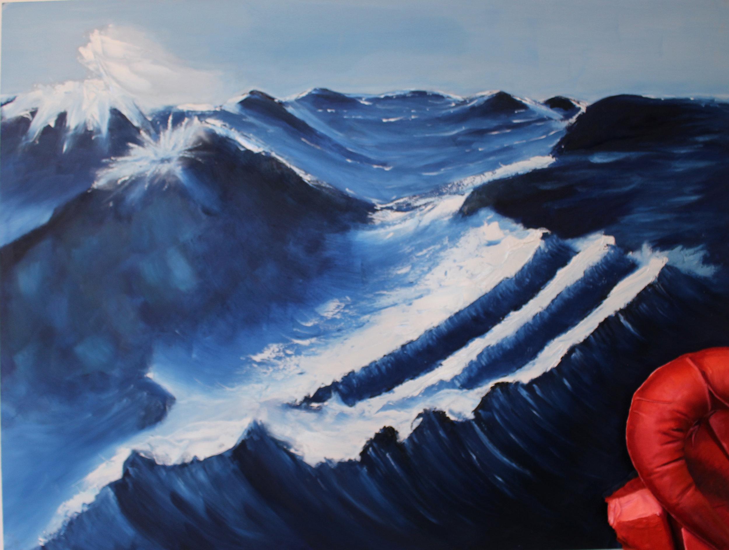 Tyana Arhondis Yr 12 Studio Arts Painting.jpg
