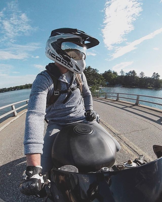 Finally got the bike out for the weekend and got some perfect weather! Also new video just went live talking about the @insta360 One x the camera this photo was taken with. Link in bio. . . . #insta360onex #insta360 #iconmotosports #weride #streetbike #portraits #darkmornings #featuremeofh #pursuitofportraits #portraitmood #portraitpage #portraitstream #gk5k #featurepalette #bravogreatphoto #l0tsabraids #majestic_people #seamyphotos #quietthechaos #featurepalette #ftmedd #ftwotw #moodygrams #featurecreature #agameoftones #portraitgames #portrait_vision