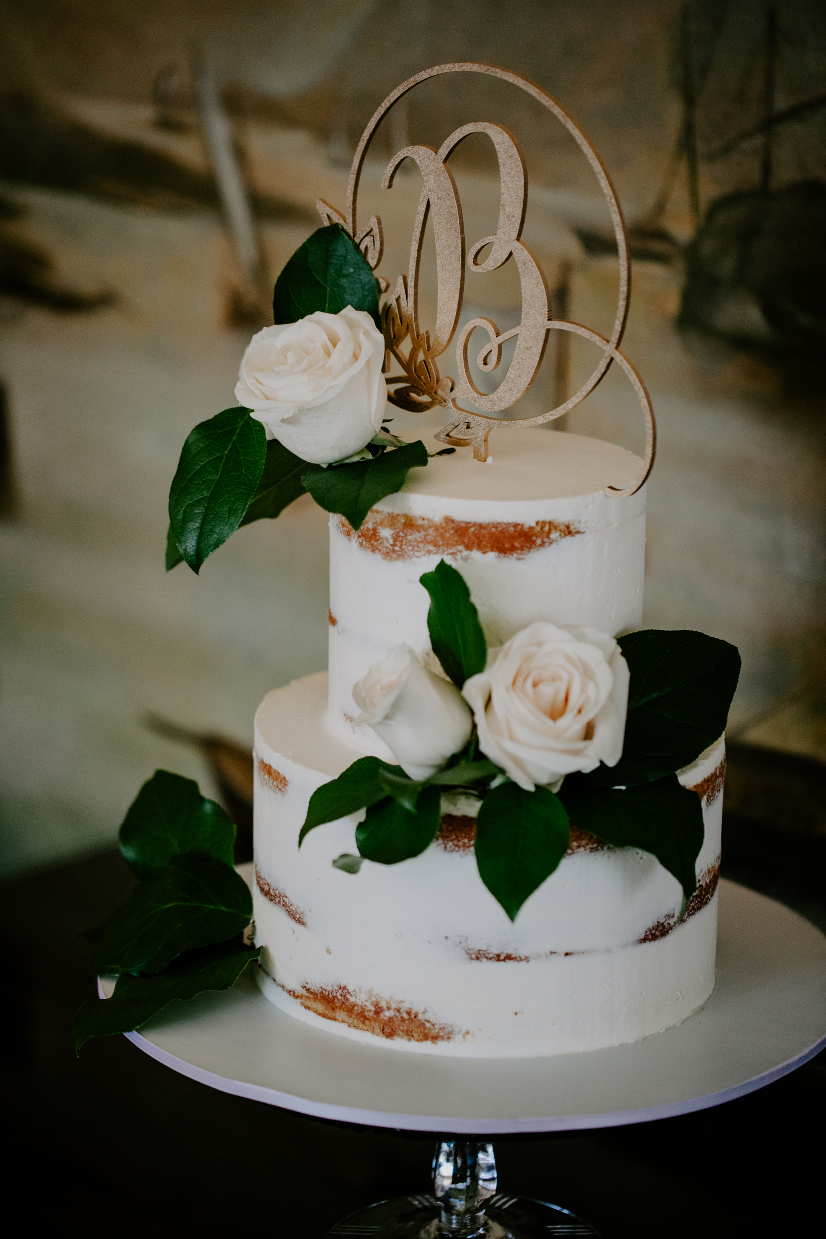 Towards The Moon Bridal Shower New York Cake