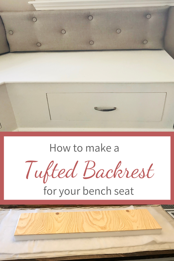 Picture of: How To Make A Tufted Backrest The Diy Dabbler