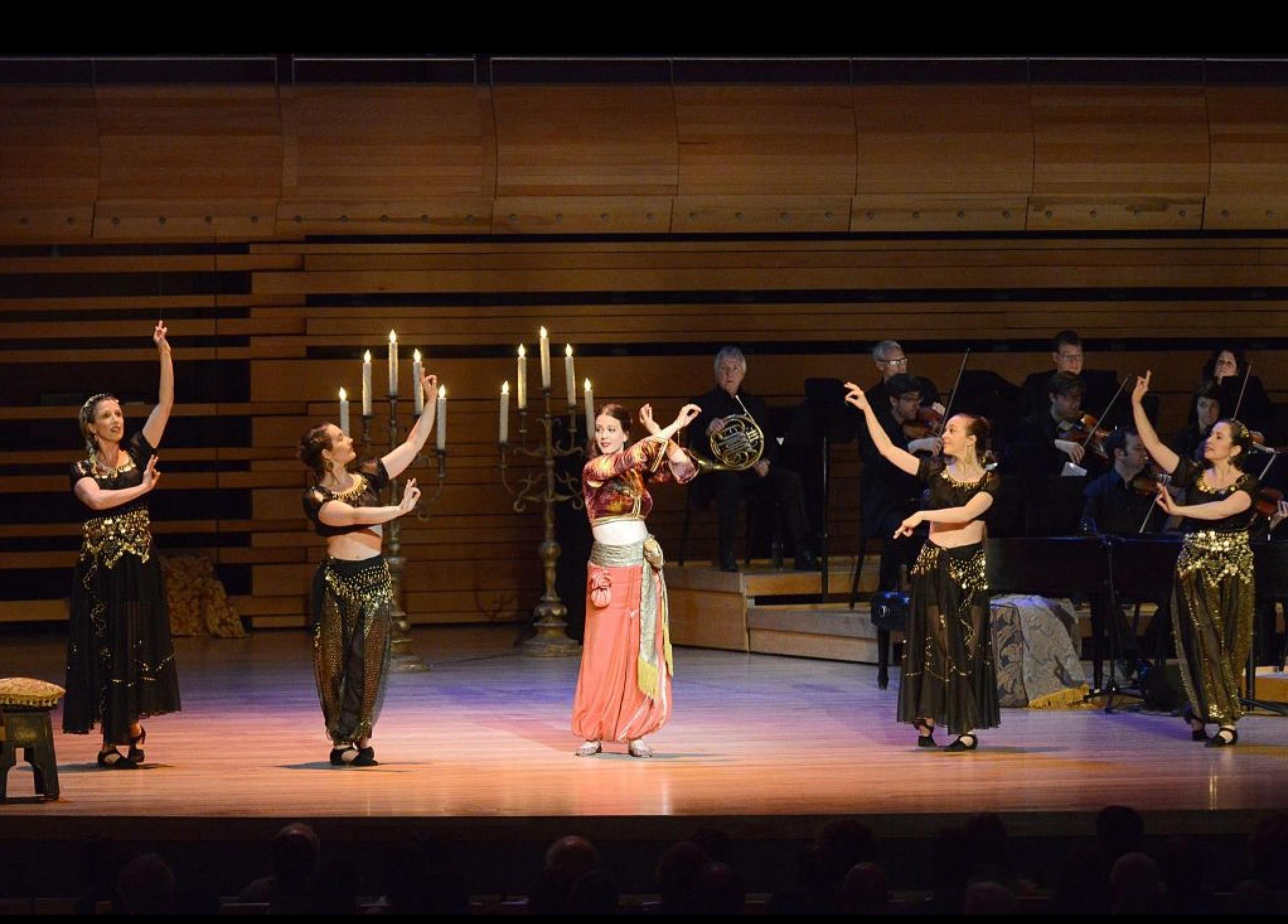 Zémire - Zémire et Azor - Atelier lyrique de l'Opéra de Montréal 2015 - Photo: Catherine Lefebvre