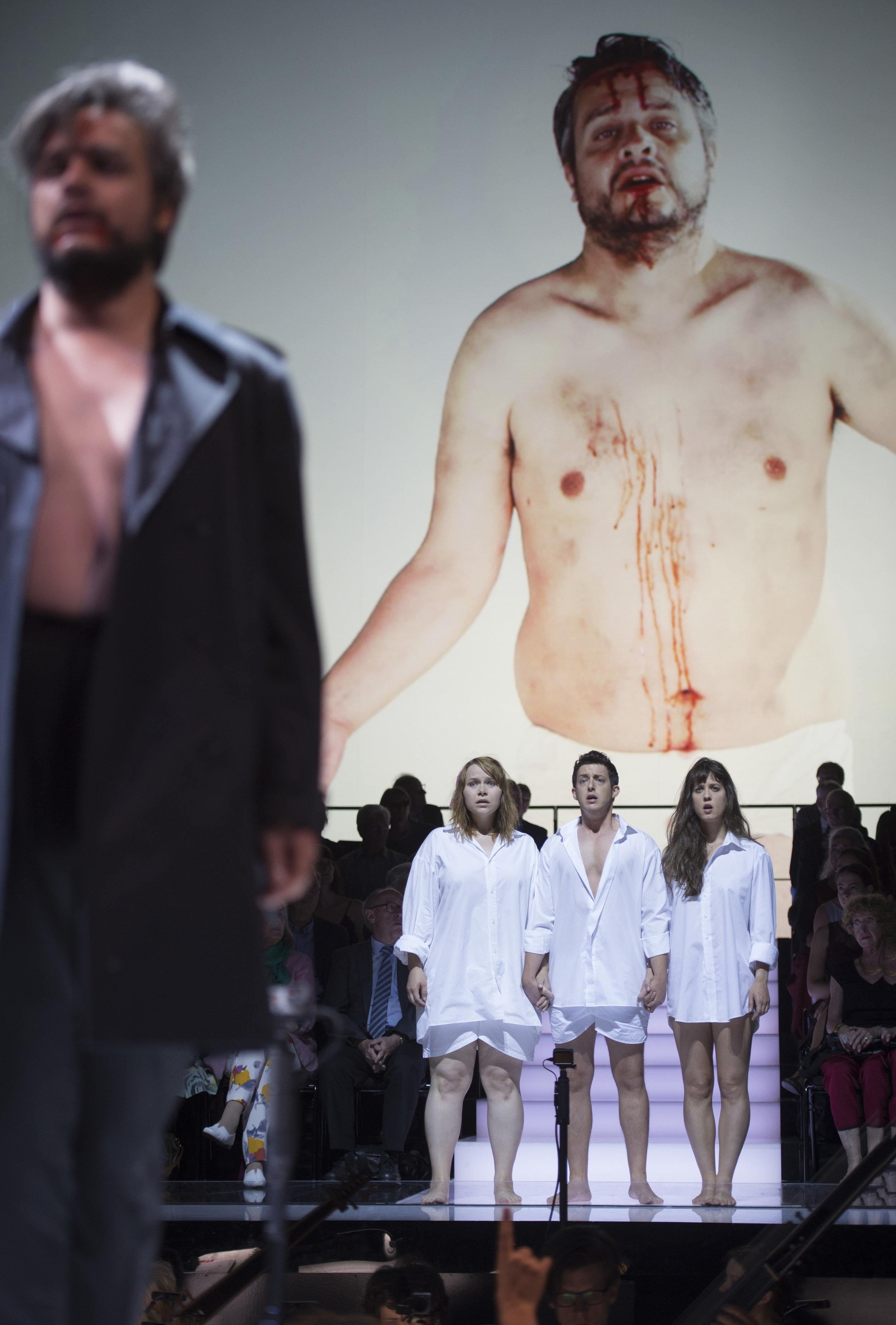 Fortuna & Damigella - L'incoronazione di Poppea - Opernhaus Zürich 2018 - Photo: Monika Rittershaus
