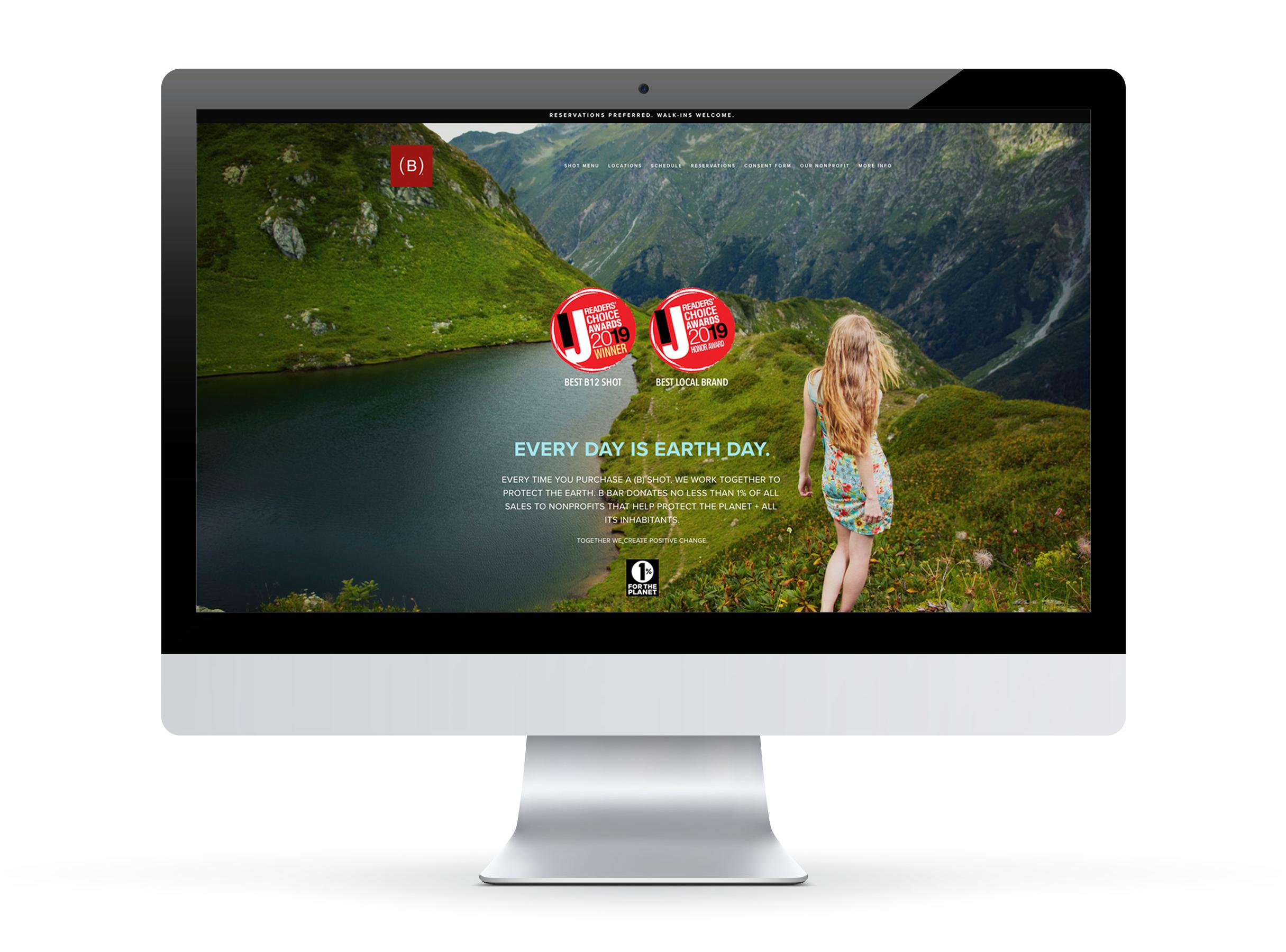 B BAR  Web Design