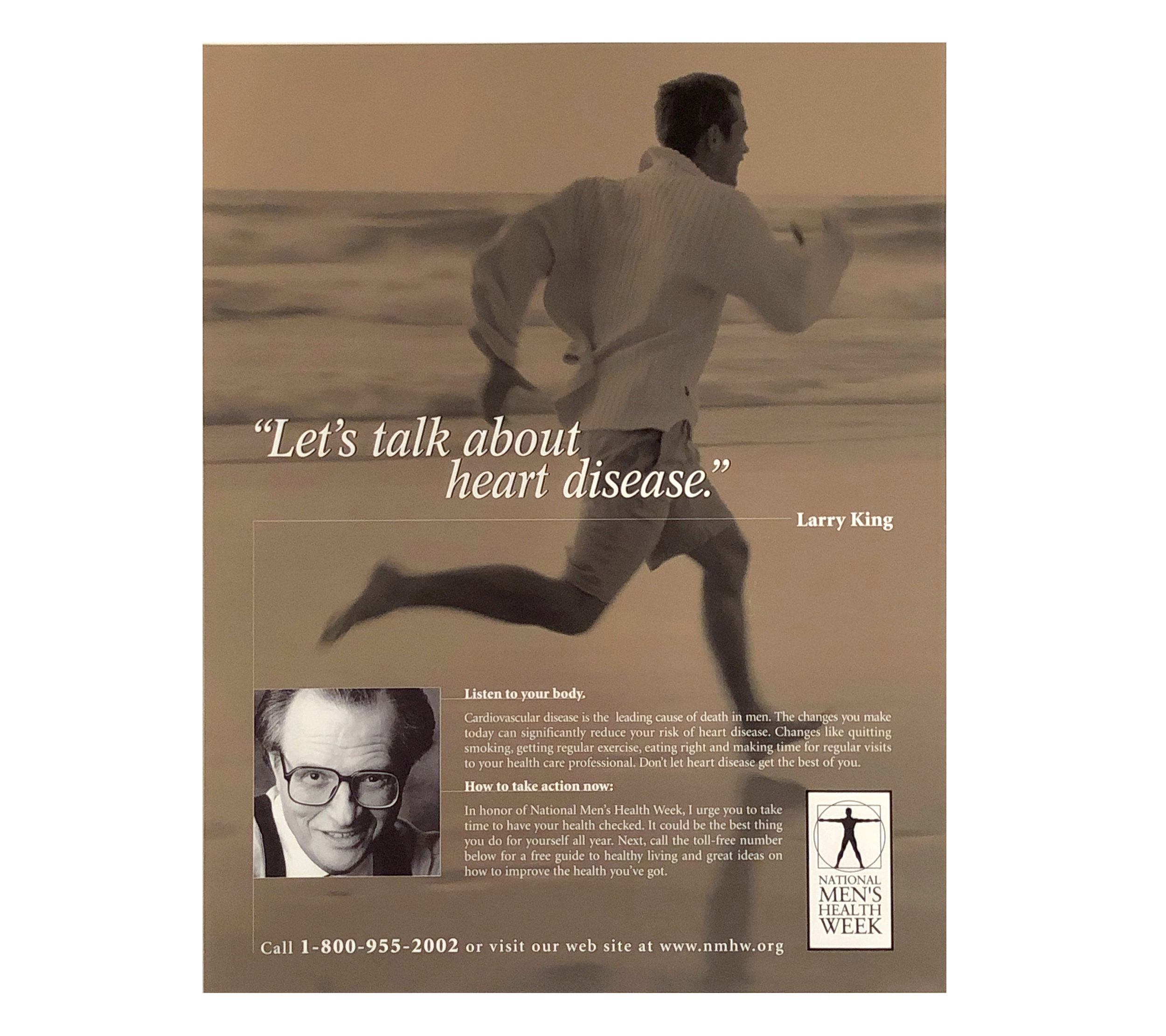Rodale Press  Men's Health Magazine Advertisement