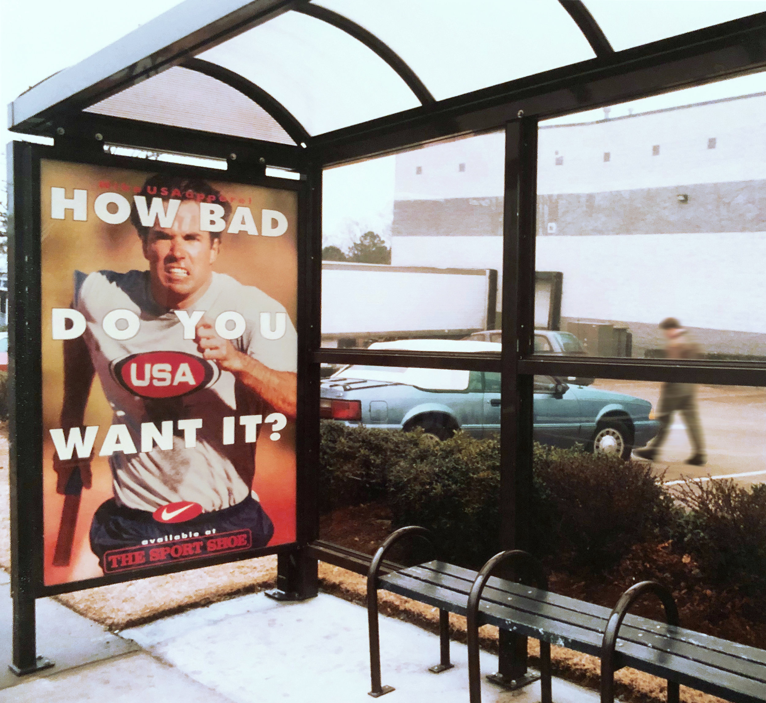 Nike USA  Atlanta 1996 Summer Olympics Outdoor Campaign