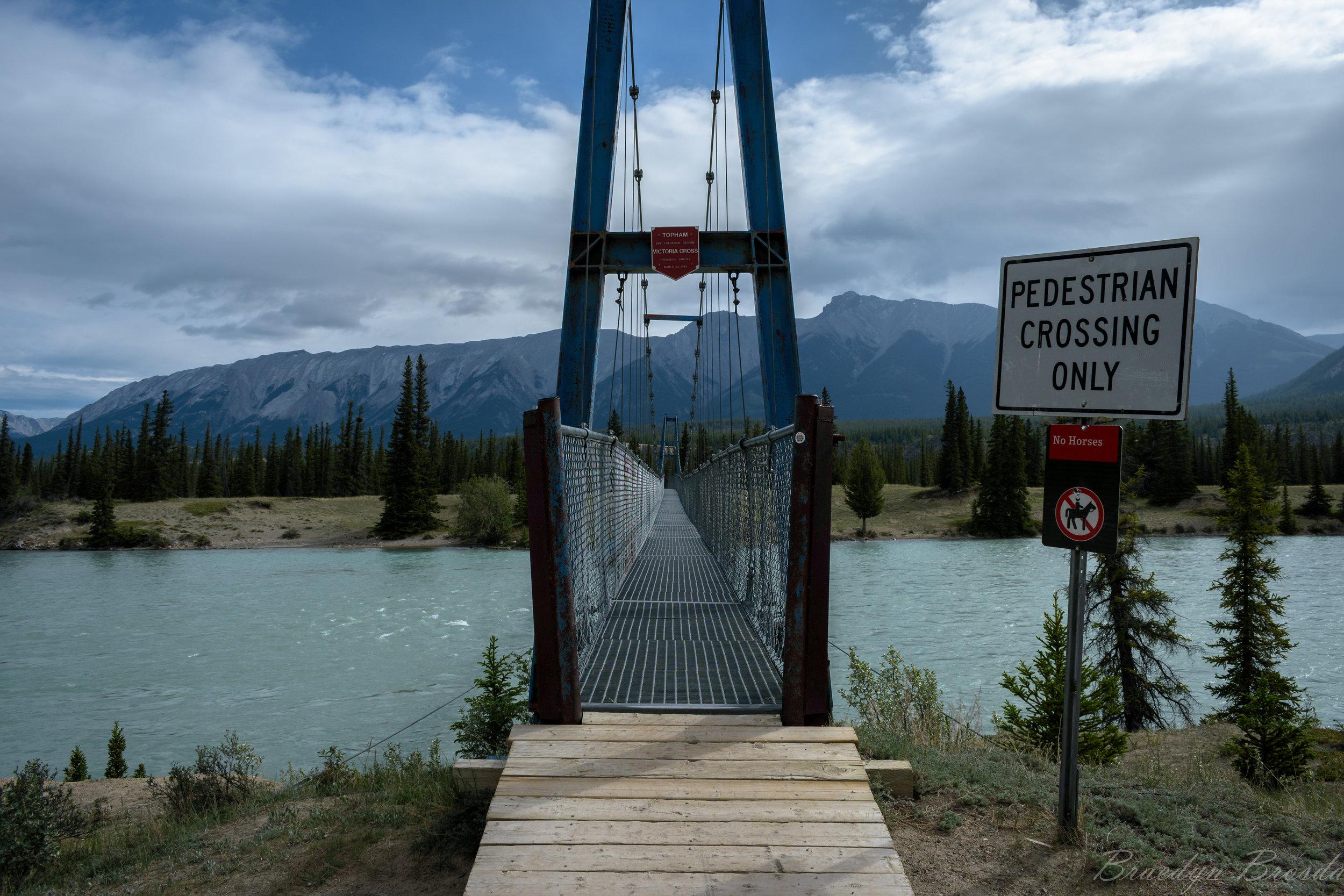 North Saskatchewan River crossing