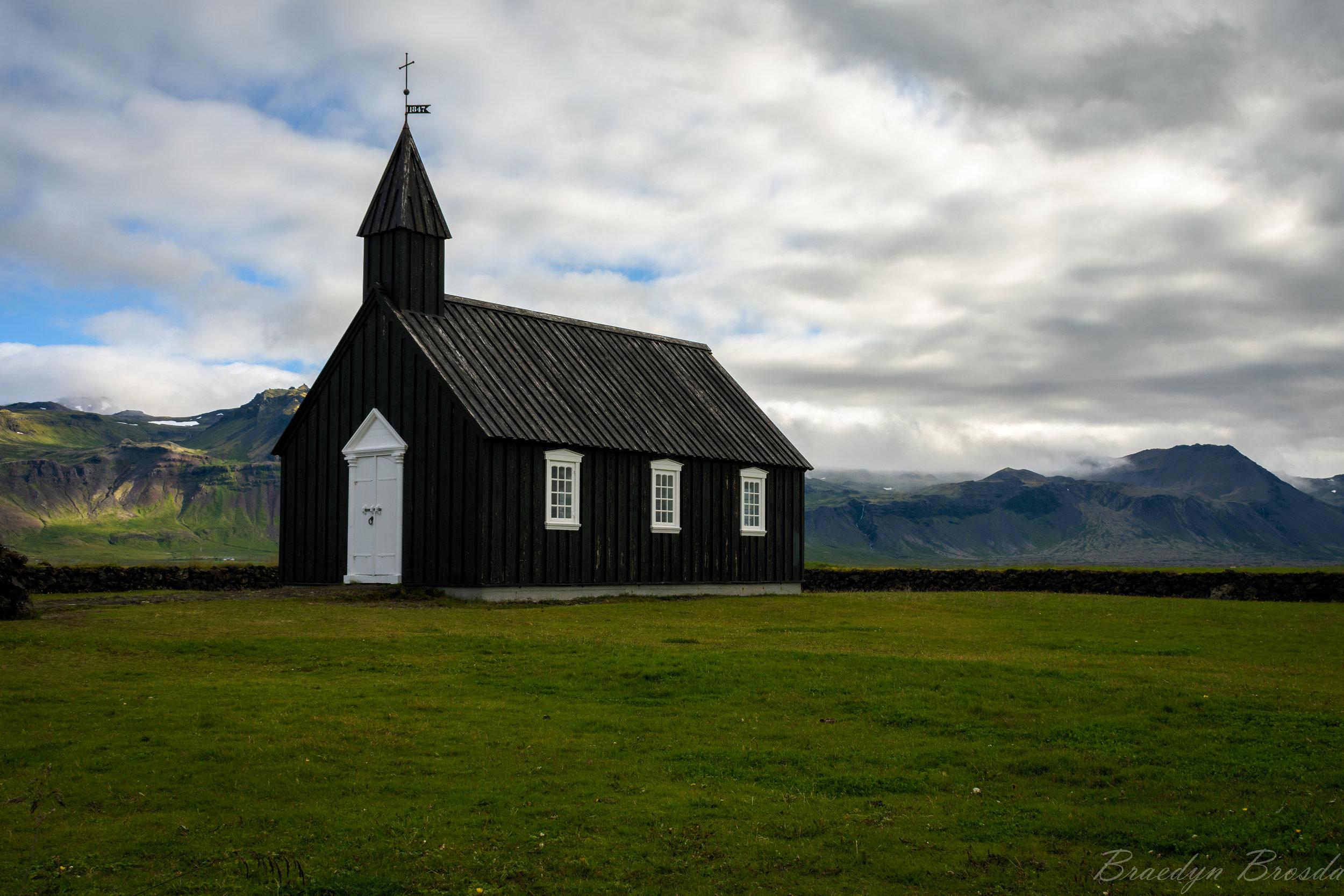 The Black Church (Budakirkja)