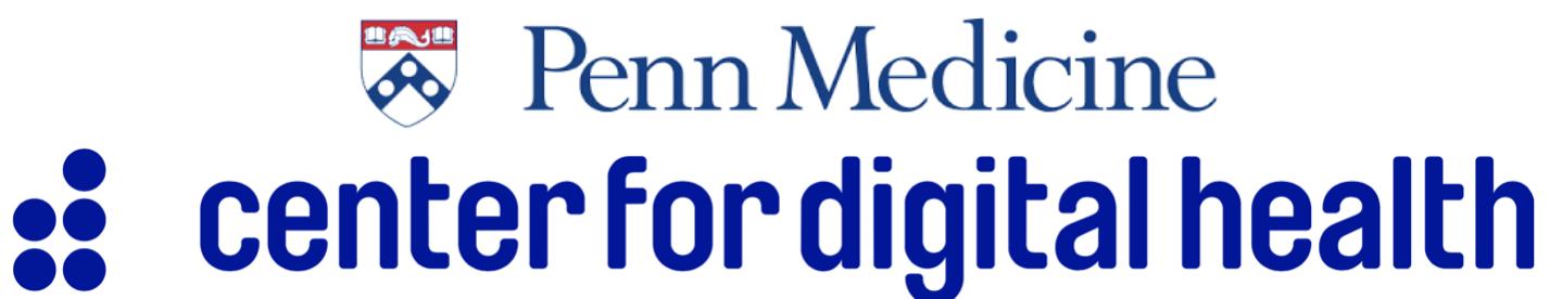 UPenn Center for Digital Health - University of Pennsylvania - Penn Medicine