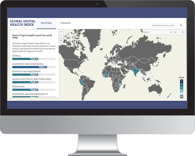The Global Digital Health Index is an interactive digital resource that tracks, monitors, and evaluates the use of digital technology for health across countries.