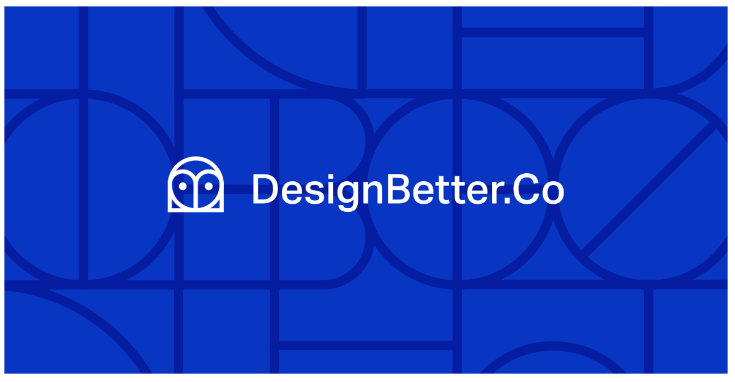 DesignBetter - Design Better provides unprecedented access to the insights that power the world's best design teams.