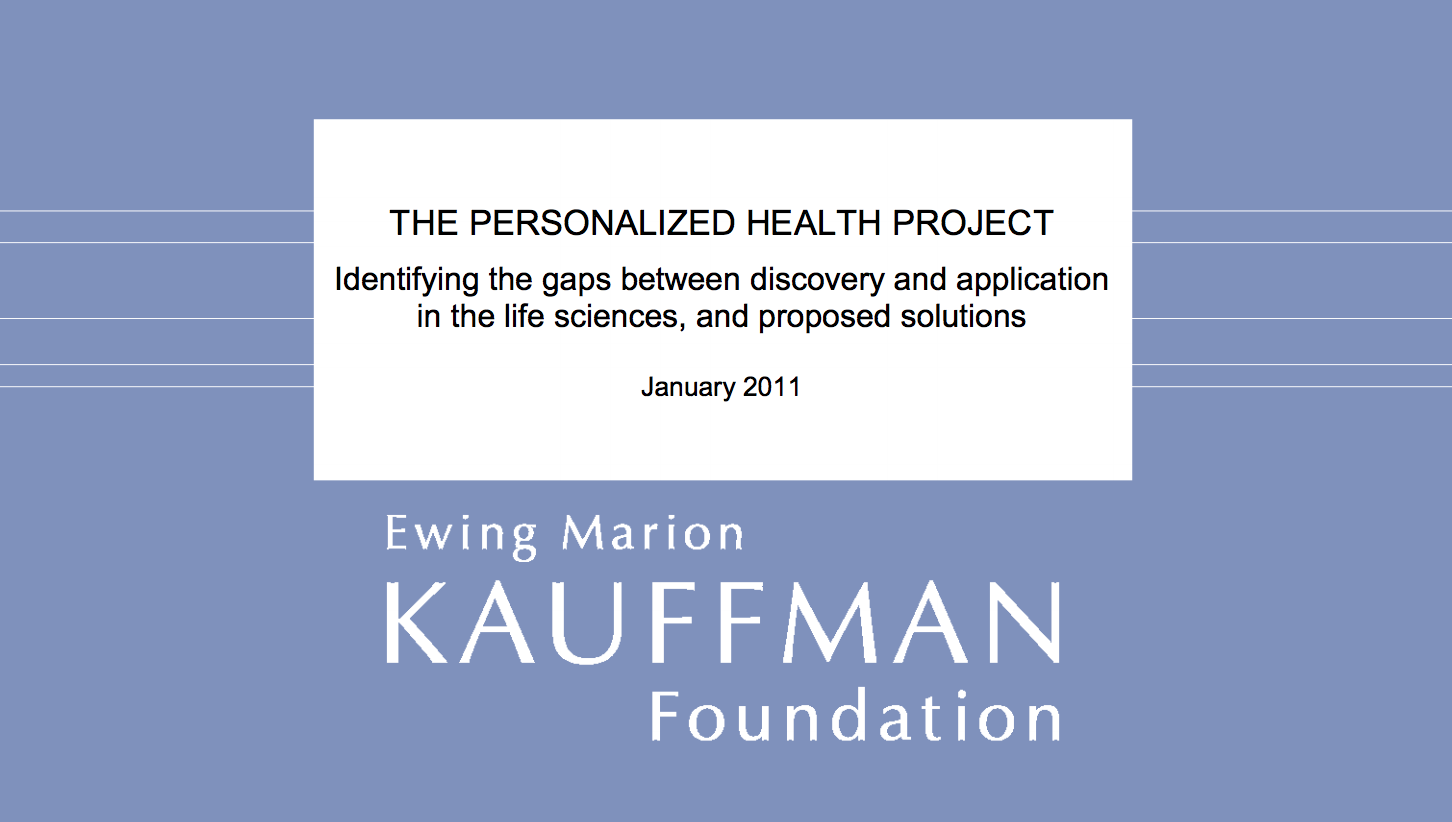 The Personalized Health Project -