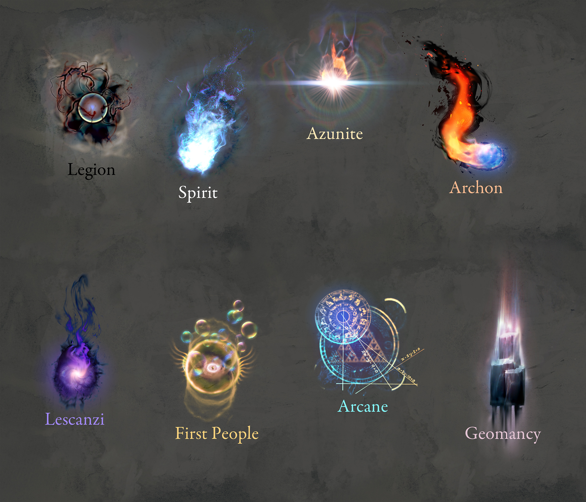 Dungeon Siege 3 - Magic Style Guide
