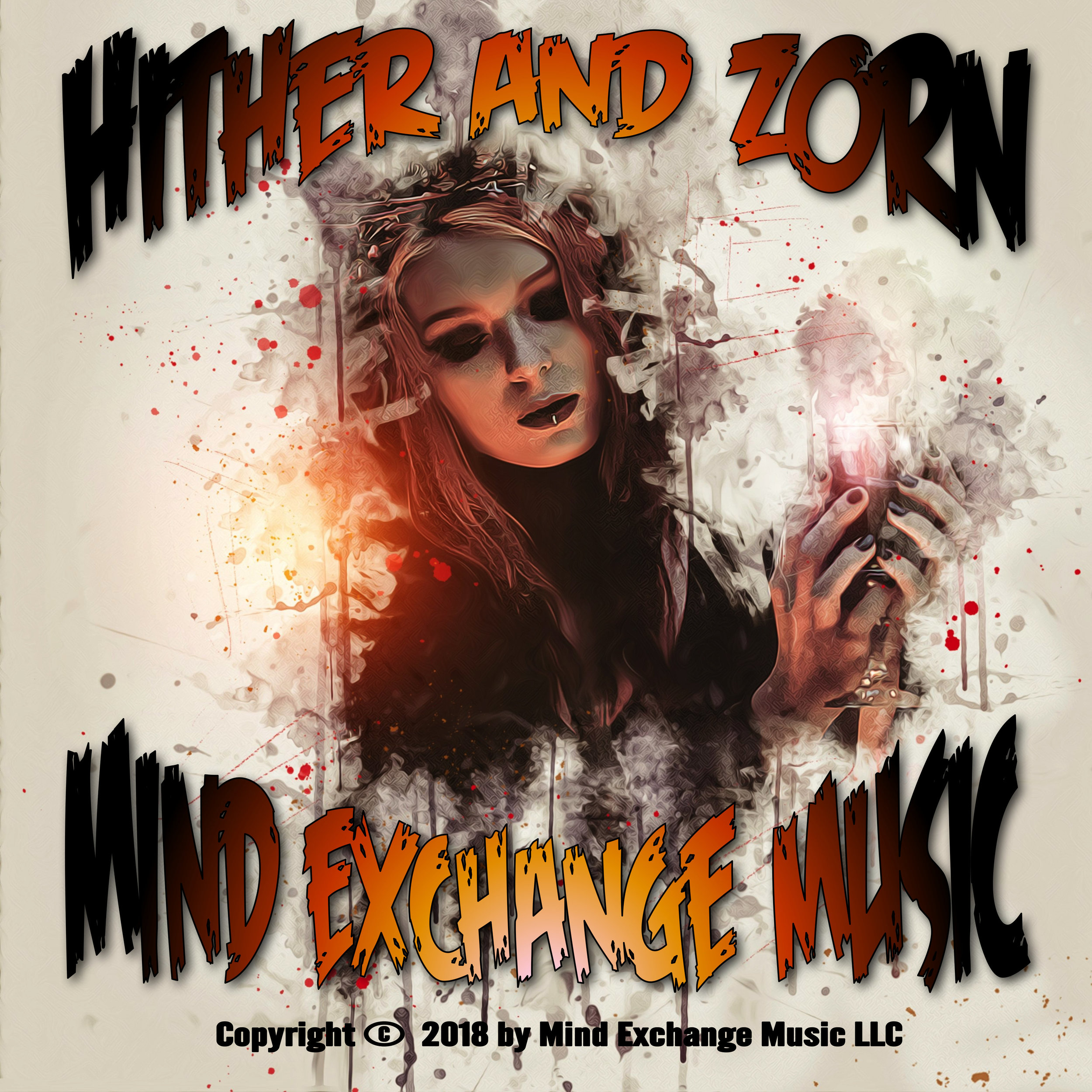 Mind Exchange Music's Hither And Zorn Record Cover