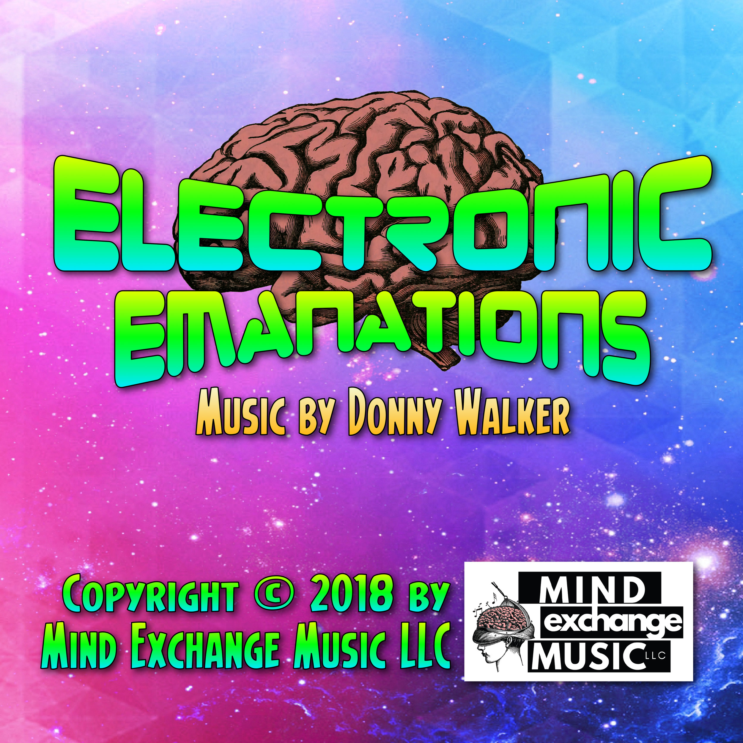 Mind Exchange Music's Electronic Emanations Record Cover