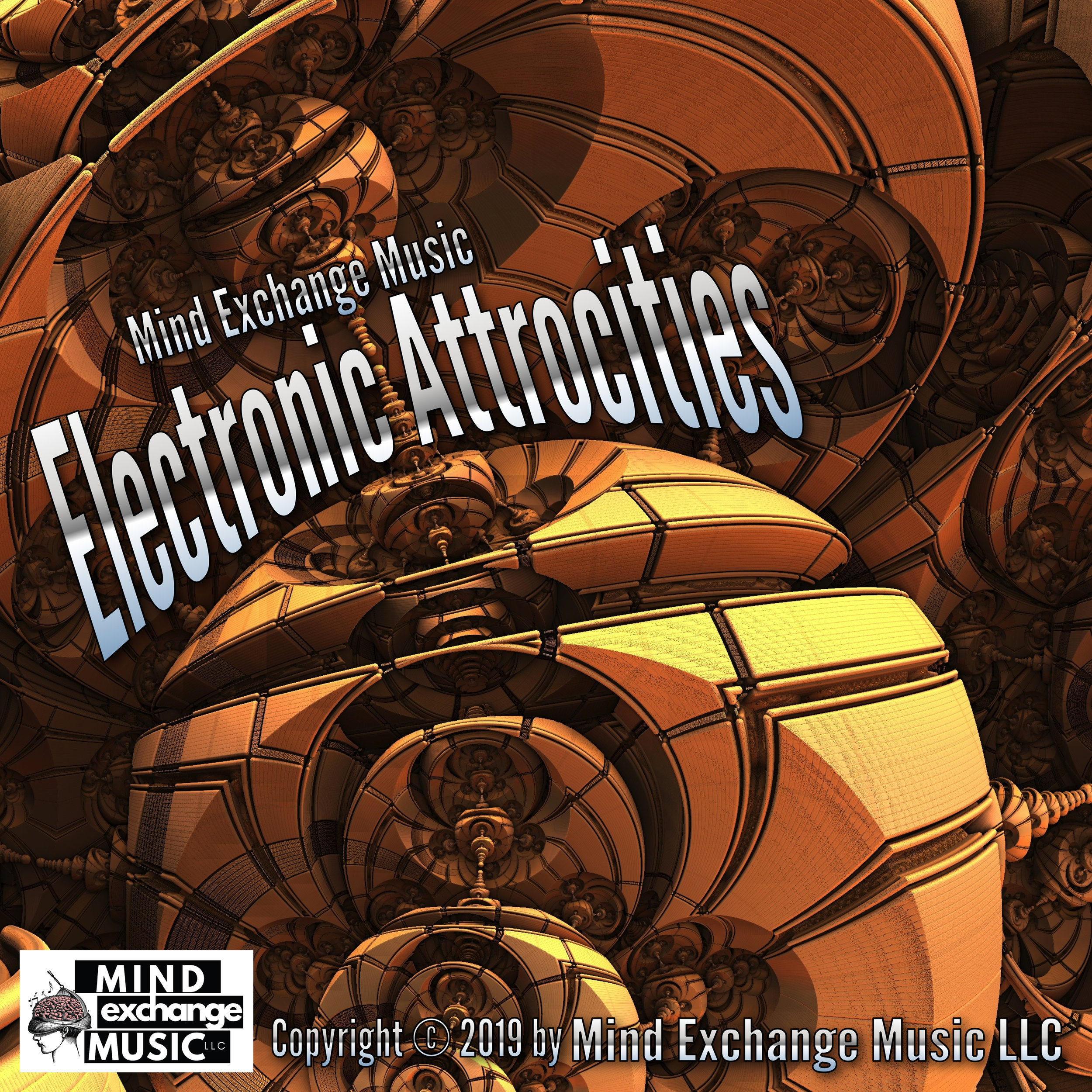 Mind Exchange Music's Record Cover Electronic Atrrocities
