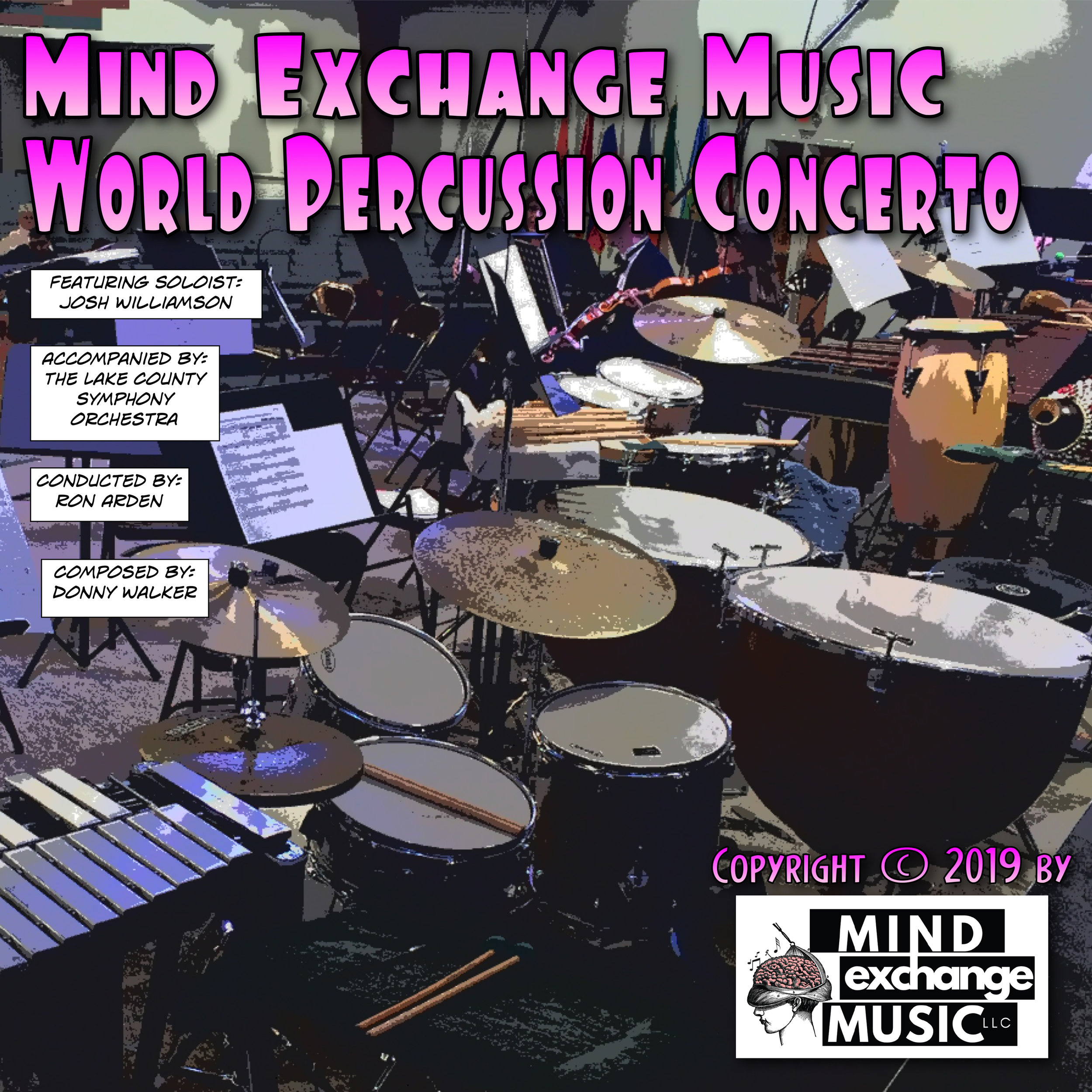 Mind Exchange Music's Soundtrack World Percussion Concerto