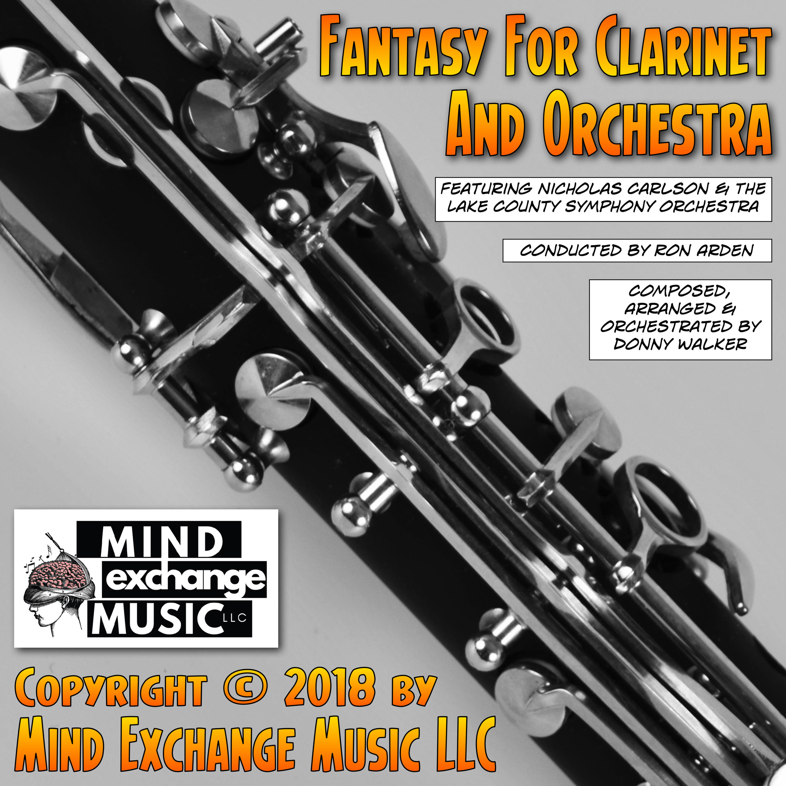 Mind Exchange Music's Soundtrack Fantasy For Clarinet And Orchestra