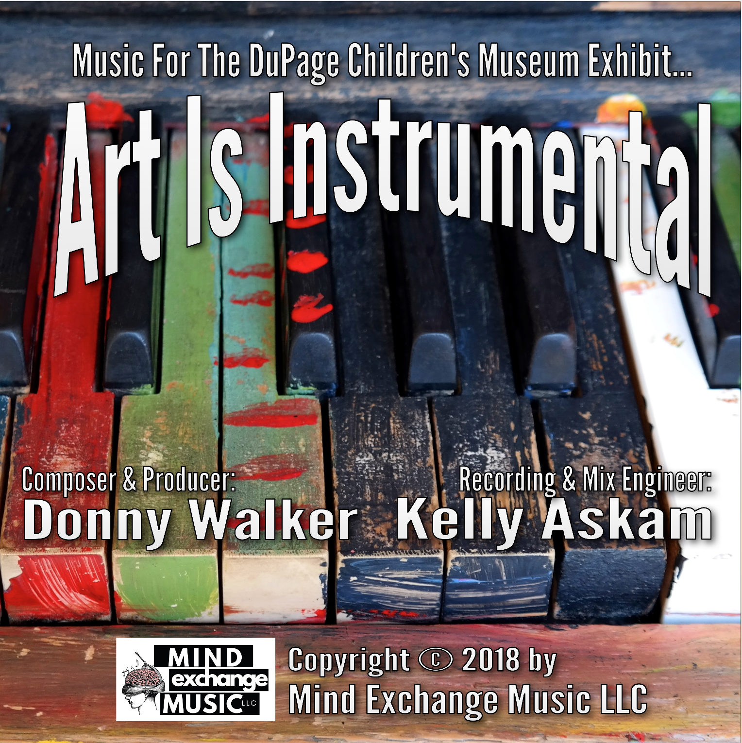 Art Is Instrumental Album Cover