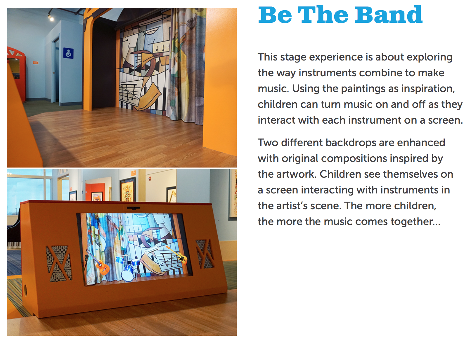 Be The Band - DuPage Children's Museum