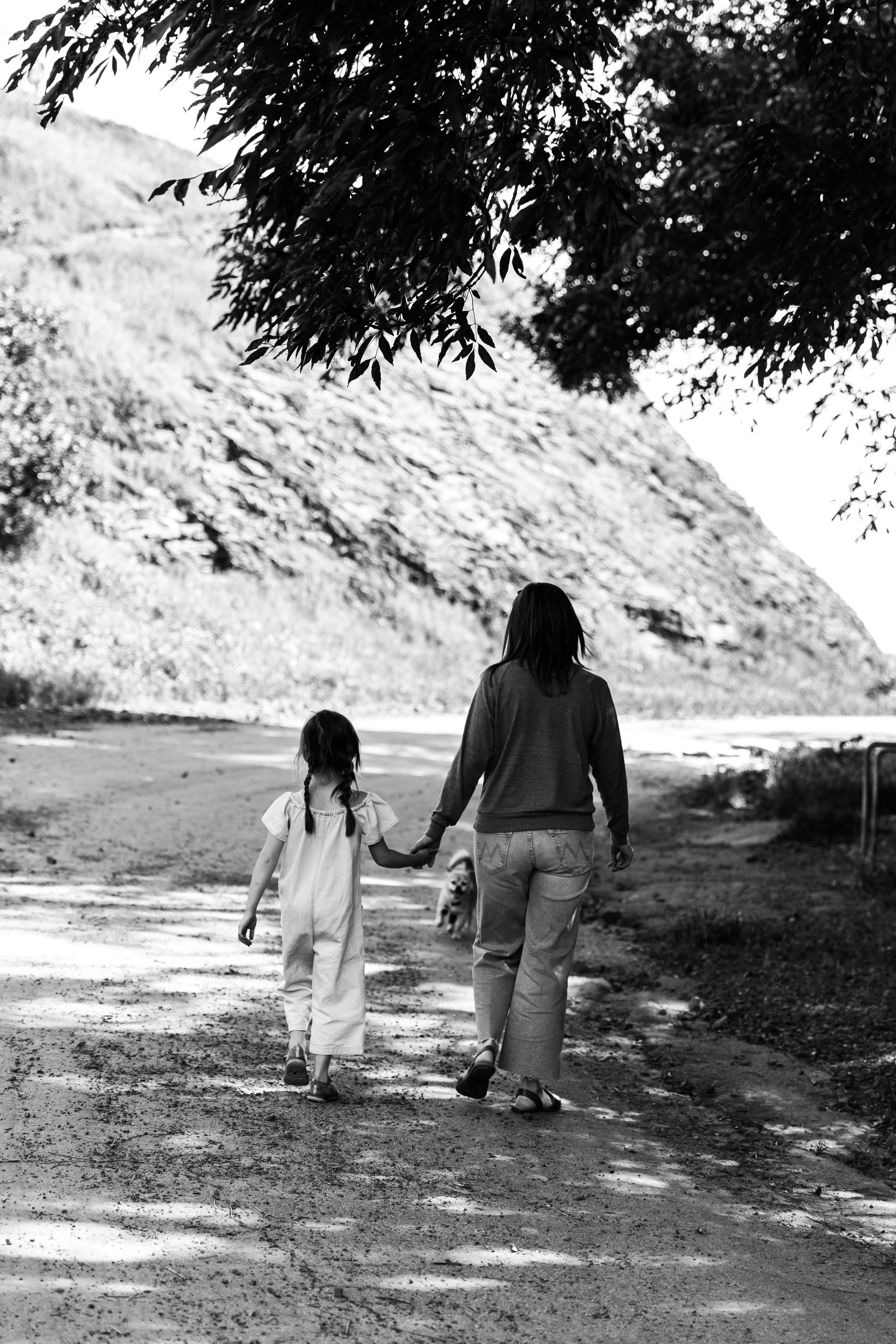 L and L walking b and w.jpg