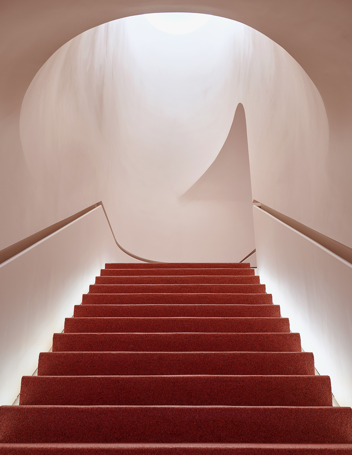 Entrance to Glossier flagship.