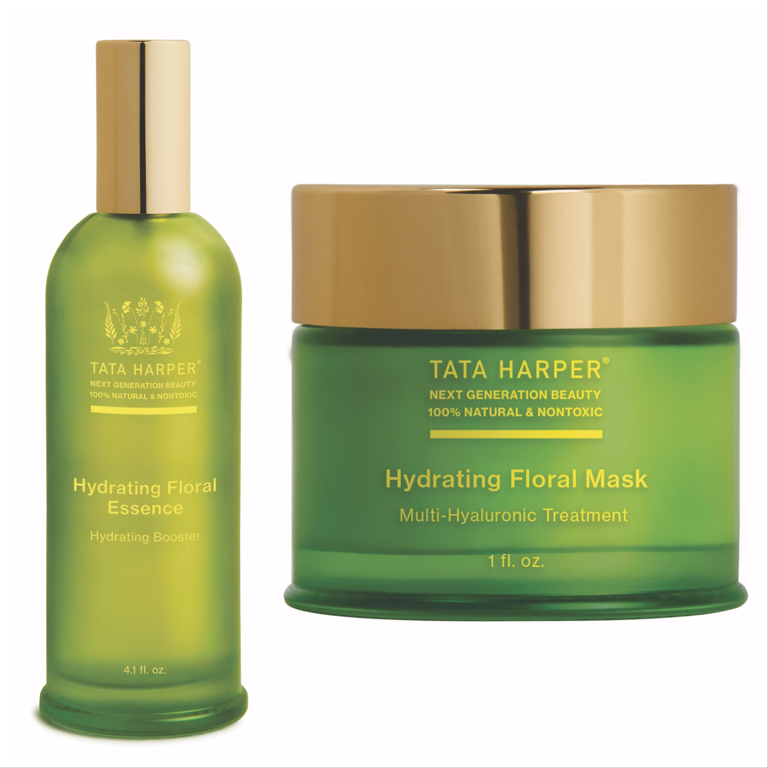 Tata Harper Hydrating Floral Essence and Mask